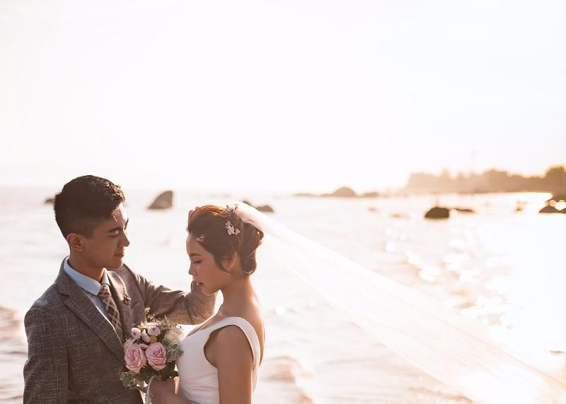 和 临沂海之礼婚纱摄影 相约幸福旅拍