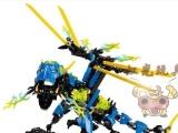 得高英雄工厂5.0乐高式玩具10389雷电龙儿童启蒙拼装合体玩具