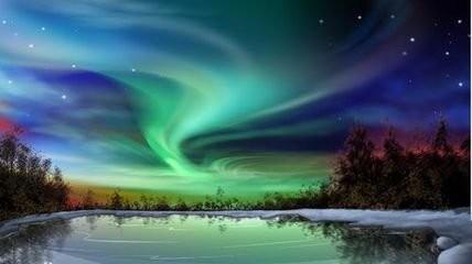 芬兰与极光和圣诞老人的不期而遇