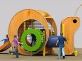 幼儿园户外玩具 木质滑梯组合 非标无动力滑梯户外公园拓展攀爬