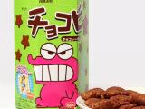 日本进口零食品 桃哈多 蜡笔小新粟米星巧克力味饼干 25G全网最