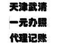 代办天津武清营业执照 免费提供注册地址 代理记账