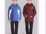 校服厂家定制定做儿童冬装棉服 小学生加厚棉衣冲锋衣