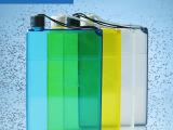 创意书本水杯 时尚笔记本式水瓶 便携式扁平学生用水壶 a5