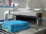 广州自动洗箱机 周转箱清洗烘干机
