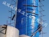 河北衡水设备外保温防腐施工队玻璃棉板铁皮保温工程