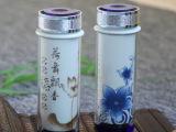 玻璃玲珑高档陶瓷简约双层隔热保温直身杯创意办公礼品可定制广告