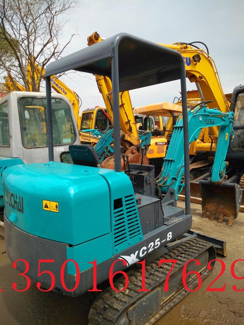 钦州二手机械:玉柴/日立/小松25 60 70二手挖掘机