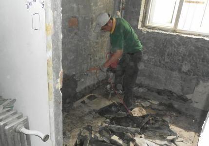广州装修设计改造拆除拆旧队 拆打敲墙拆厨卫打包清运淤泥
