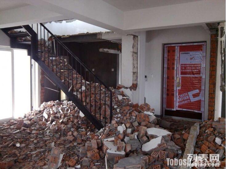 开县专业商场 商铺拆除 拆柜 拆墙 打地砖 清理垃圾