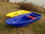 長沙塑膠打魚船塑料養殖船4.1米漁船廠家直銷牛筋塑料釣魚船