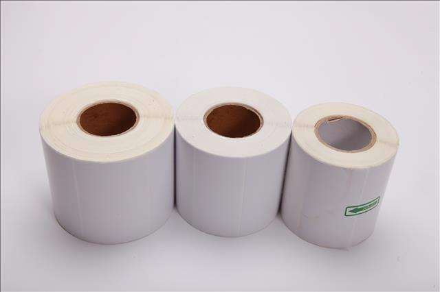 铜版纸不干胶包邮标签条码打印纸支持定制