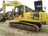 合肥小松200和220等二手挖掘机出售挖掘机价格