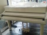 自用白色三角钢琴出售
