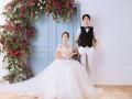拍韩式婚纱照怎么微笑好看