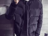 冬季新款男装棉服外套休闲时尚保暖舒适青少年连帽开衫拉链上衣