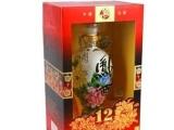 西凤酒国花瓷12年国花瓷十二年西凤酒批发