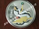 锌合金纪念币人像纪念币纯银纪念币定制