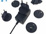 厂家直供8.4V1A转换头锂电池充电器 指纹考勤机充电器