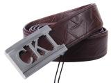 CKI专柜正品 皮带鸵鸟皮男士自动扣皮带 休闲品牌皮带 厂家直销