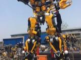 变形金刚展览模型出租变形金刚6米大黄蜂租赁