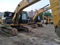 甘肃兰州卡特彼勒320D2型二手挖机3400小时