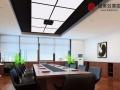 东营做效果图制作办公楼休息室效果图视频会议室效果图