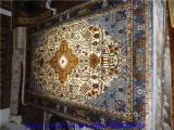 厂家直销手工艺术挂毯 手工地毯 福贵地毯