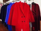 **品质纯毛双面大衣呢面料 冬季高档羊毛短顺毛呢 双面尼面料