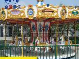 儿童转马价格 旋转木马游乐场设备现货