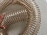 厂家供应多规格pu钢丝管,吸尘管