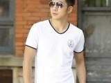 2014春夏装韩版修身男t恤衫 莱卡棉男士短袖t恤 男装短袖T恤