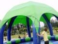 儿童水上乐园 室外大型充气水上乐园 可移动支架水池