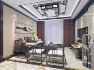 中式客厅装修效果-荣和悦澜山100 新中式案例