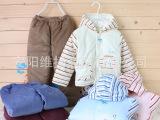 憨豆龙童装冬季宝宝棉衣婴幼儿带帽两件套装保暖棉服儿童棉袄