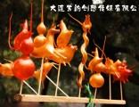 大连民俗表演-冰糖葫芦棉花糖