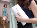 2014新款欧美女包时尚包包晚宴包女式包女潮韩版夏季漆皮链条手包