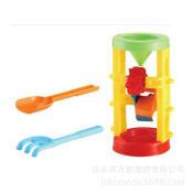 儿童沙滩玩具车 夏天玩具沙滩玩具套装 决明子沙滩玩具