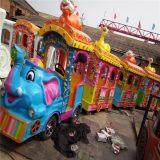 厂家专业生产大象无轨小火车 电动小火车儿童游乐设备智宝乐供应