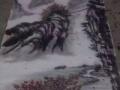 国画书画字画客厅装饰挂画山水画风水画四尺条幅