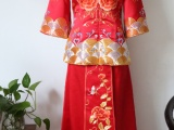 卿佩旗袍 手工绣花秀禾 中式婚庆礼服 中国风服装 婚嫁服