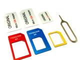 新品 金属 还原卡套 三星索尼苹果卡托转换卡槽5s/5C/iph