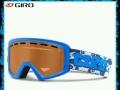 儿童滑雪头盔和眼镜
