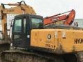 现代215-7(黑金刚)二手挖掘机低价格出售,保修一年