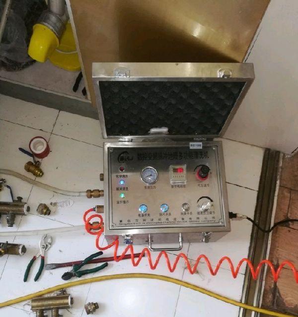专业地暖清洗更换分水器