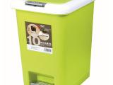 多仁可脚踏垃圾桶 家用翻盖创意时尚垃圾桶 厨房卫生间垃圾桶