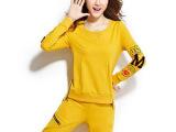 运动服套装女士新款韩版宽松休闲卫衣两件套时尚潮服