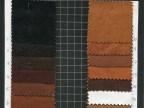 人造革PVC 双色64纹皮料 复古皮革 用于礼品包装等