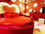 湘潭一品红长期批发娱乐场所电动水床,圆床