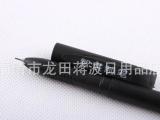 黑色办公笔中性笔针管